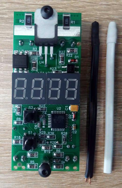 Плата терморегулятора обогревателя
