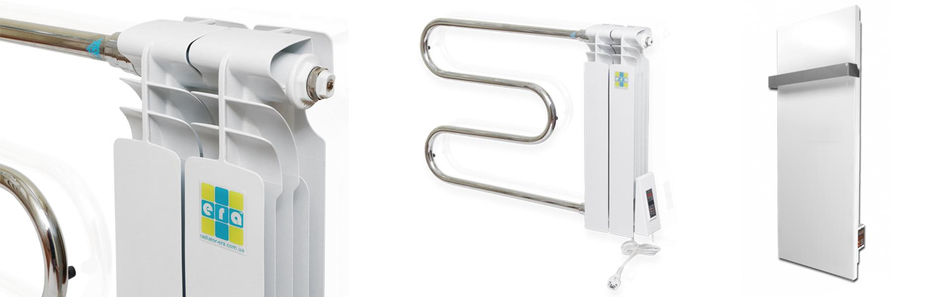 Электрополотенцесушители с терморегулятором ЭРА+